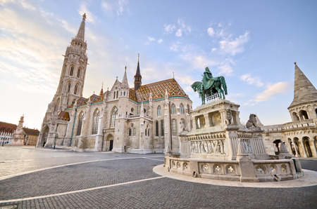 St Matthias church in Budapest - Hungary Standard-Bild