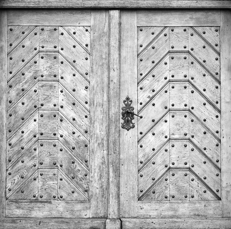 brads: Old door for background usage