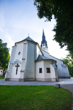 assumption: Church of the Assumption of the Virgin Mary - Spisska Nova Ves, Slovakia