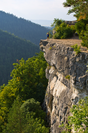 thomas stone: Famous Tomasovsky Vyhlad viewpoint in Slovak Paradise