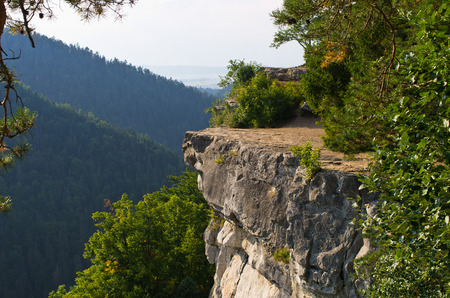 Famous Tomasovsky Vyhlad viewpoint in Slovak Paradise