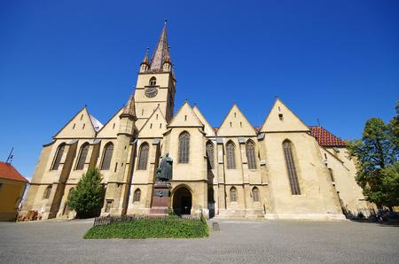 lutheran: Sibiu Lutheran Cathedral in Romania