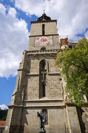 brasov: Black church in Brasov - Romania