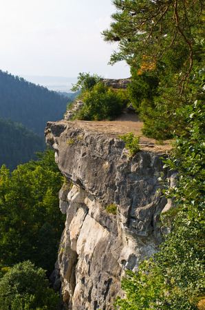 slovak: Famous Tomasovsky Vyhlad viewpoint in Slovak Paradise
