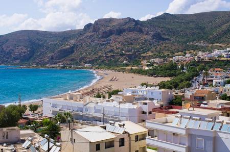 Cityscape of Paleochora - Crete, Greece