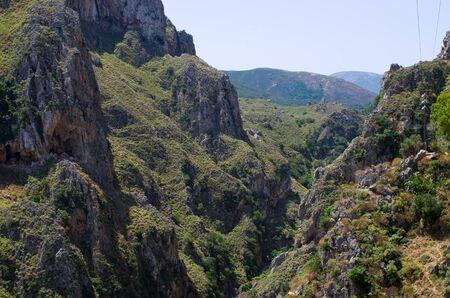 crete: Topolia Gorge on Crete - Greece