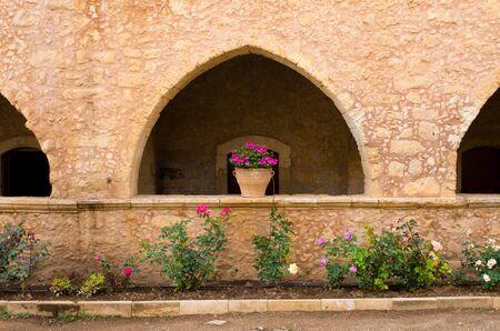 arkady: Moni Arkadiou cloister, Crete, Greece