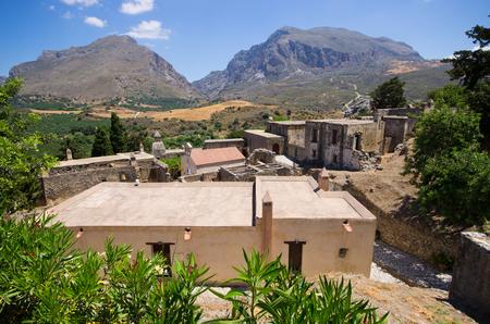 theologian: Moni Preveli cloister on Crete island - Greece