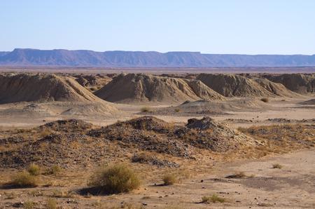dug well: Historic qanat (water supply) in Morroco