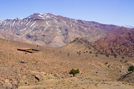 atlas: Atlas mountains in Morocco, Africa Stock Photo