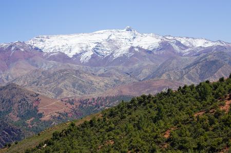 Atlas mountains in Morocco, Africa Stock Photo