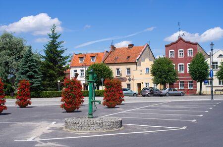 wielkopolskie: Osieczna - old little town in Poland Stock Photo
