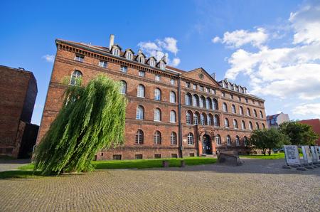 nazis: Famus building of post in Gdansk - Poland