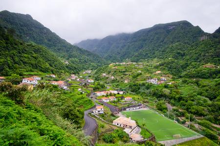 Landscape near Sao Jorge - Madeira island, Portugal Stockfoto