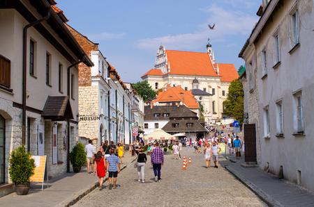 Kazimierz, Poland - August 08, 2017: view on the town. Kazimierz nad Wisla is one of oldest polish towns.