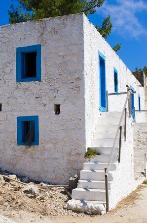 Agios Ioannis Thymianos church - Kos island, Greece Zdjęcie Seryjne - 128741328