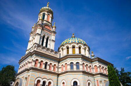 Orthodox church of Lodz - Poland Zdjęcie Seryjne - 129909631