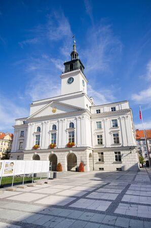 Town hall of Kalisz in Poland