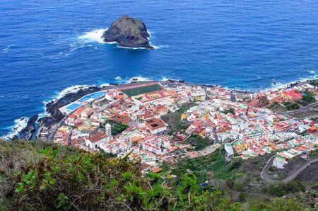 Garachico town on Tenerife - Spain Zdjęcie Seryjne - 131506880