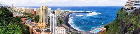 Puerto de la cruz - Tenerife, Spain Zdjęcie Seryjne - 131506305