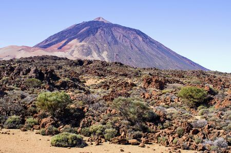 Volcanic view on Tenerife island - Spain
