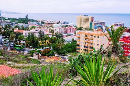 Puerto de la cruz - Tenerife, Spain Zdjęcie Seryjne - 131506318