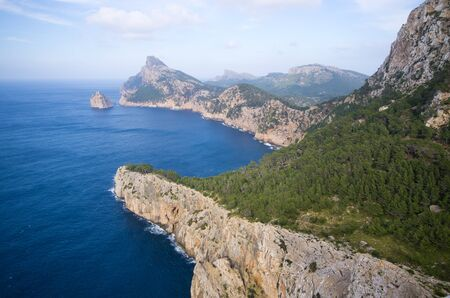 Dramatic view from Mirador Es Colomer, Mallorca, Spain
