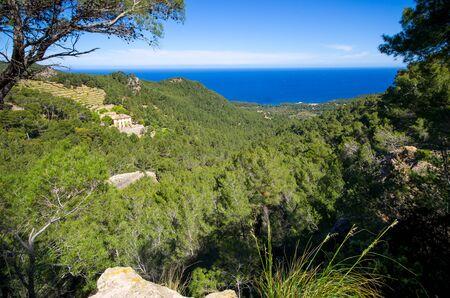 Landscape of Mallorca island - Spain Stok Fotoğraf