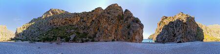 Magnificent beach Torrent de Pareis, Sa Calobra, Mallorca