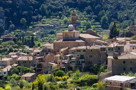 Famous church in Valldemossa - Mallorca, Spain