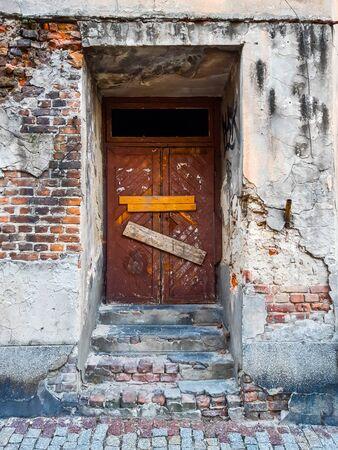 Old door in the building