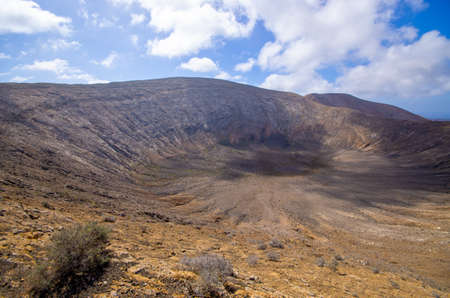 Volcanic landscape of Lanzarote Island - Spain