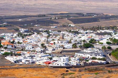 Cityscape of Teguise - Lanzarote, Spain Editöryel