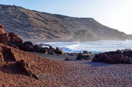 El Golfo bay on Lanzarote island - Spain