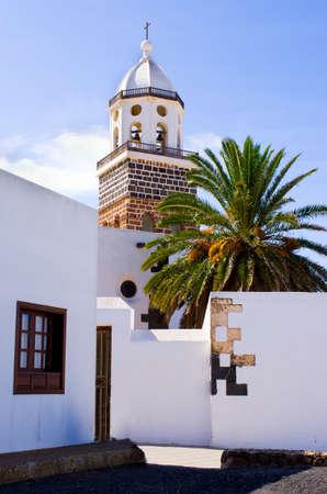 Beautiful Teguise on Lanzarote Island, Spain