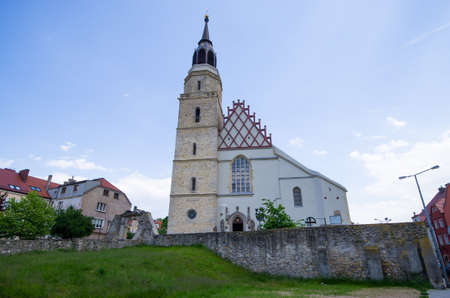 Church in Boleslawiec town - Poland