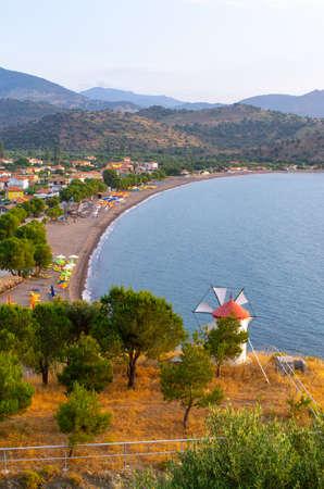 Beach of Anaxos Skoutarou - Lesbos, Greece