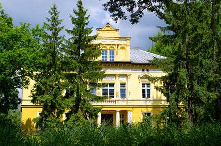 Old house in Boleslawiec - Poland Stok Fotoğraf