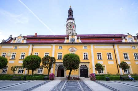 Town hall of Boleslawiec - Poland Stok Fotoğraf