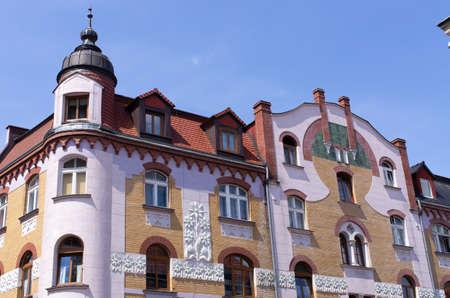 Town square of Boleslawiec - Poland Stok Fotoğraf - 155247375