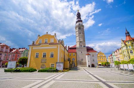 Town square of Boleslawiec - Poland Stok Fotoğraf - 155381632