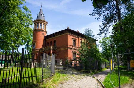 Old building in Gluszyca - Poland