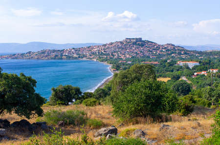 Cityscape of Mithymna - Lesbos, Greece