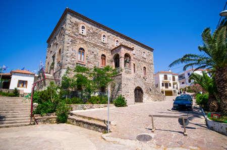 Sigri - little village on Lesbos island - Greece