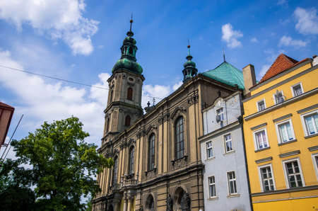 Church in Nysa - Opolskie, Poland