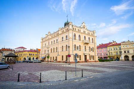 Town square of Jaroslaw - Poland