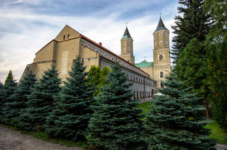 Old sanctuary in Jaroslaw - Poland Editöryel
