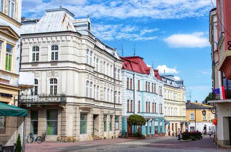Buildings of Tarnow in Poland Editöryel