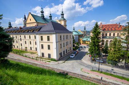 Buildings of Przemysl in Poland