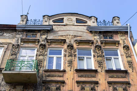 Buildings of Tarnow in Poland Stok Fotoğraf